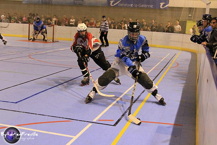Equipe Elite Villeneuve-la-Garenne - match contre Toulouse - Photo Adrien Freville