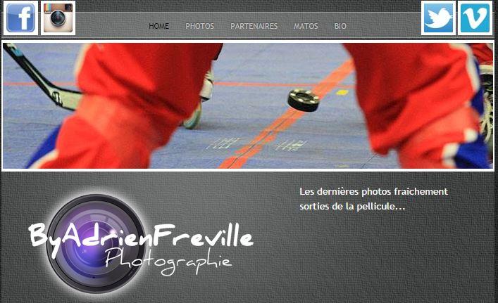 Photographes - site web Adrien Fréville