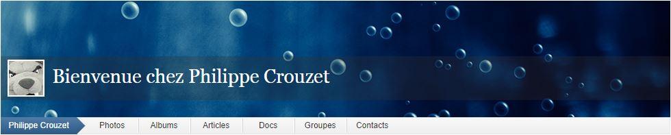 Photographes - site web Philippe Crouzet