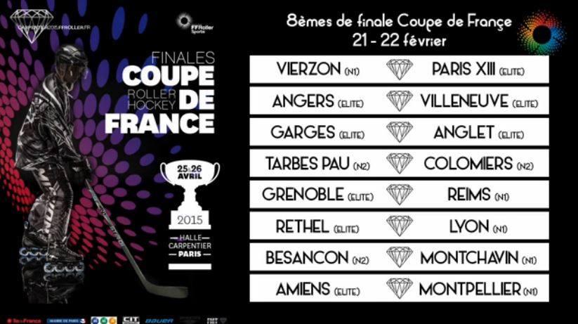 Tirage au sort des 8e de finale de la Coupe de France