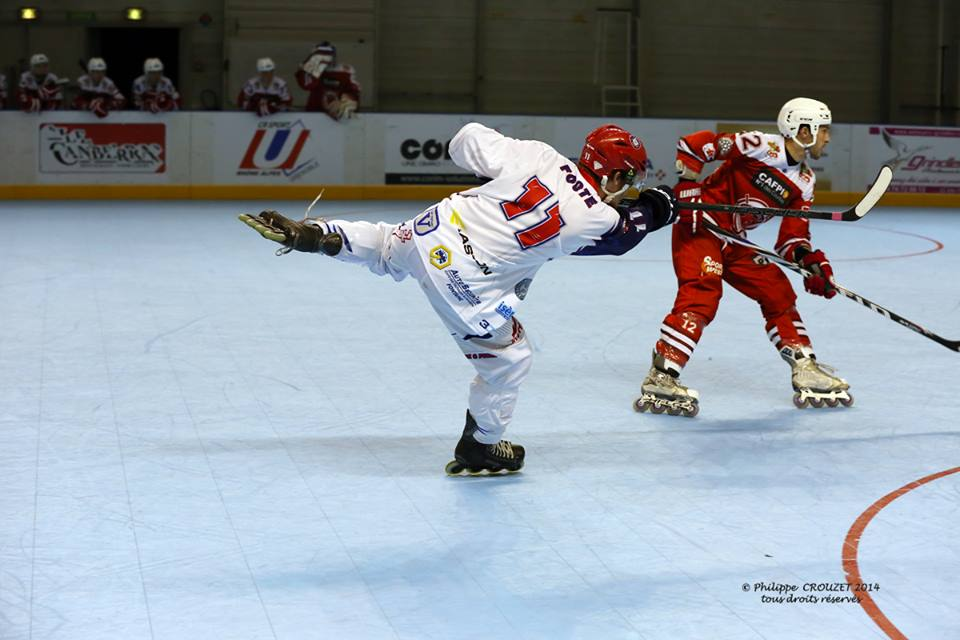 Josh Foote - Grenoble Amiens - Photo Philippe Crouzet