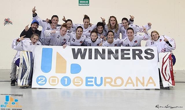 EuropaCup Féminines championnes