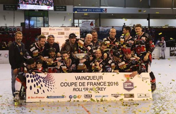 Rethel vainqueur Coupe de France 2016 - photo FF Roller Sports