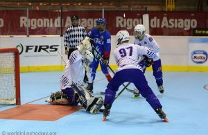 Equipe de France - Italie - photo World Inline Hockey