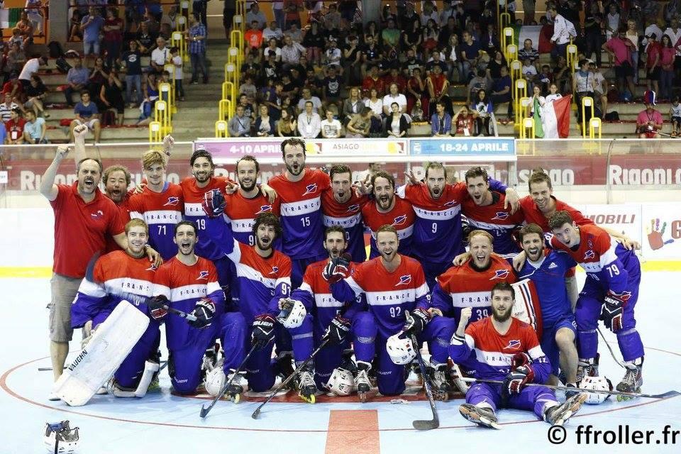Les Bleus en bronze - Mondial 2016 - ph FFRoller