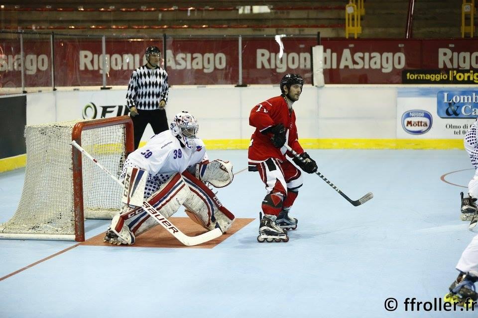 Roman De Preval - France Suisse - photo FF Roller Sports