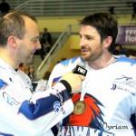 William Richard rejoint le staff des Hawks d'Angers, après un nouveau titre cette saison... avec Angers. Photo Myriam Leprince