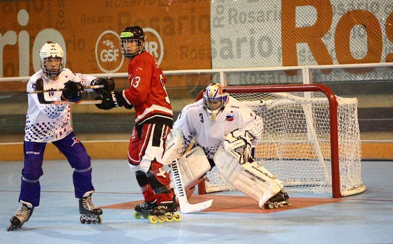 France Suisse junior - Rosario 2015